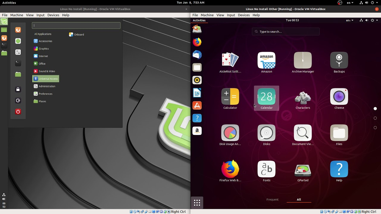 Best Linux Distros 2020 2019 2020] Linux Ubuntu 19.04 vs Linux Mint 19.1 OS | Last Gnome