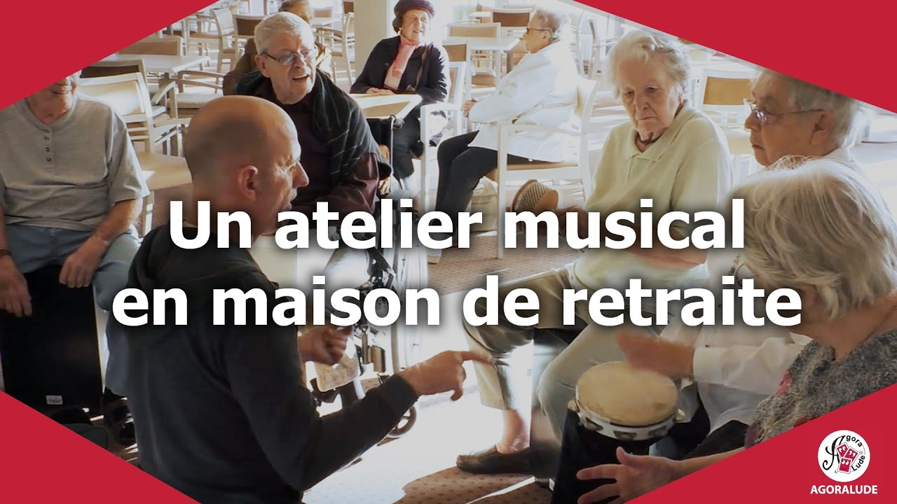 Animation un atelier musical en maison de retraite youtube for Aquarelle maison de retraite