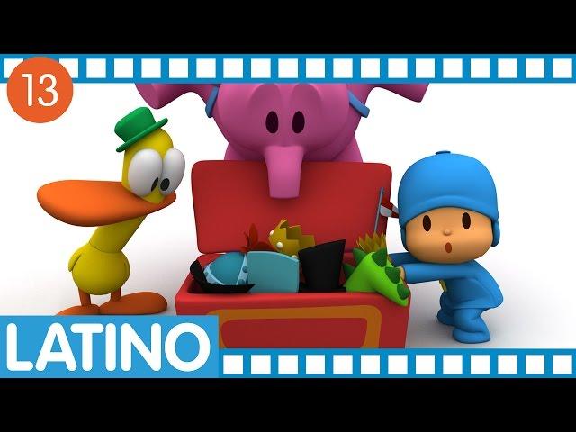 Pocoyó en español para América Latina - Temporada 01 Ep.49-52 Videos De Viajes