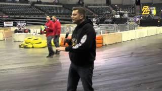 Racers Guide Is at Battle of Trenton Indoor Auto Race 2014