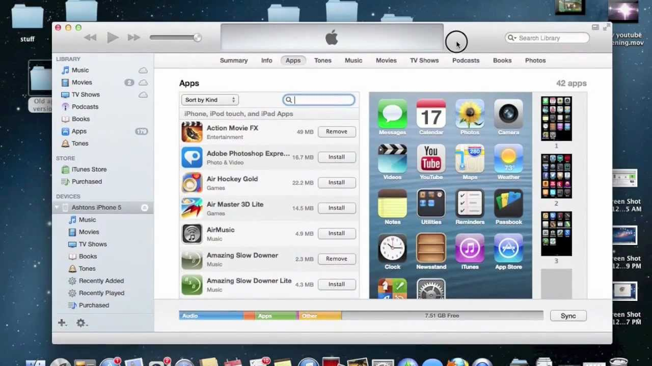 How to down-grade apps in iTunes to a previous version
