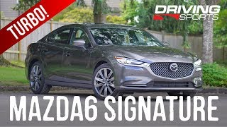 2018 Mazda6 Signature Review vs Toyota Camry and Honda Accord