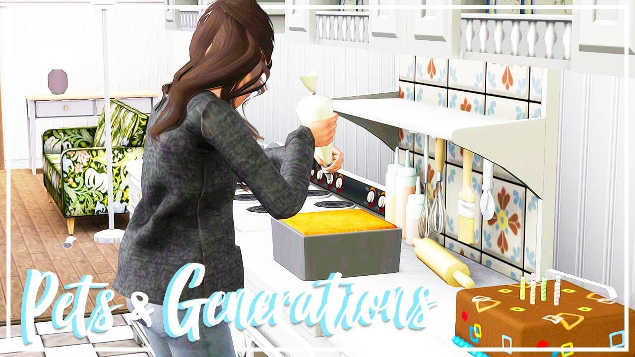 Let's Play: The Sims 3 Pets & Generations (Part 12) - DOUBLE BIRTHDAY FUN!