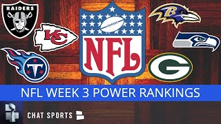 NFL Power Rankings: All 32 Teams Ranked Entering Week 3 Of The 2020 NFL Season