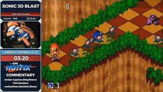 Sonic 3D Blast by AmberCyprian and TGH in 44:59 - Sonic and the Shiny Things