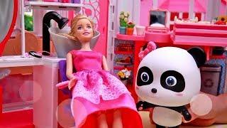 장난감 친구들 바비 헤어디자인|바비 미용실놀이|토이버스 인형놀이|Kids Toys | Baby Doll Play | ToyBus Barbie|Toy Story