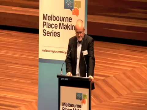 Video of Simon Holt speaking at the launch of the Melbourne Place Making Series