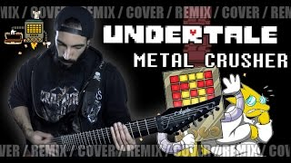 Undertale - Metal Crusher | METAL REMIX