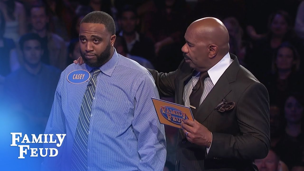 Wow! Casey and Tony CRUSH Fast Money! | Family Feud