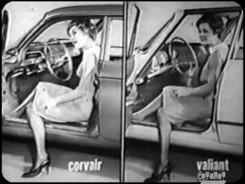 Plymouth Valiant Vs Chevrolet Corvair II Vintage 1961 Film