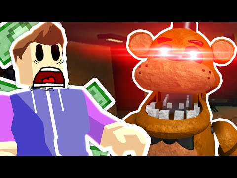Roblox - FNAF Tycoon - FREDDY FAZBEAR IS GONNA KILL ME!