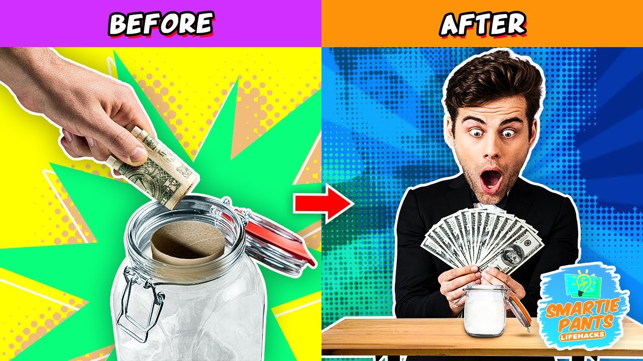 BRILLIANT HACKS THAT WILL SAVE YOU A LOT OF MONEY!!! 💸💵💴💶💷💰💳💎| Smartie Pants Lifehacks