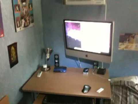 iMac Aluminum 24 Desk Setup YouTube
