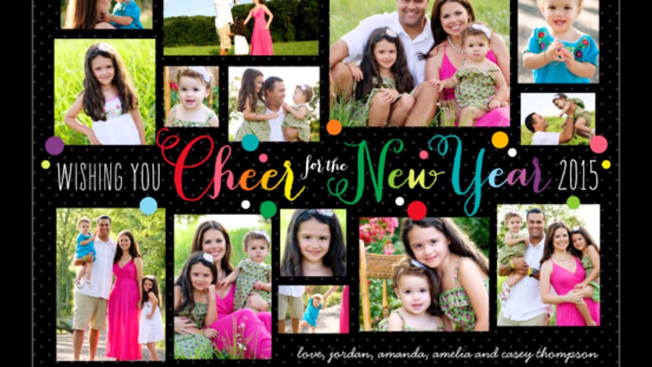 new year invitation card templates