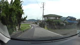岡山県道179号万富停車場弓削線、r96-r79 車載動画 HX-A500