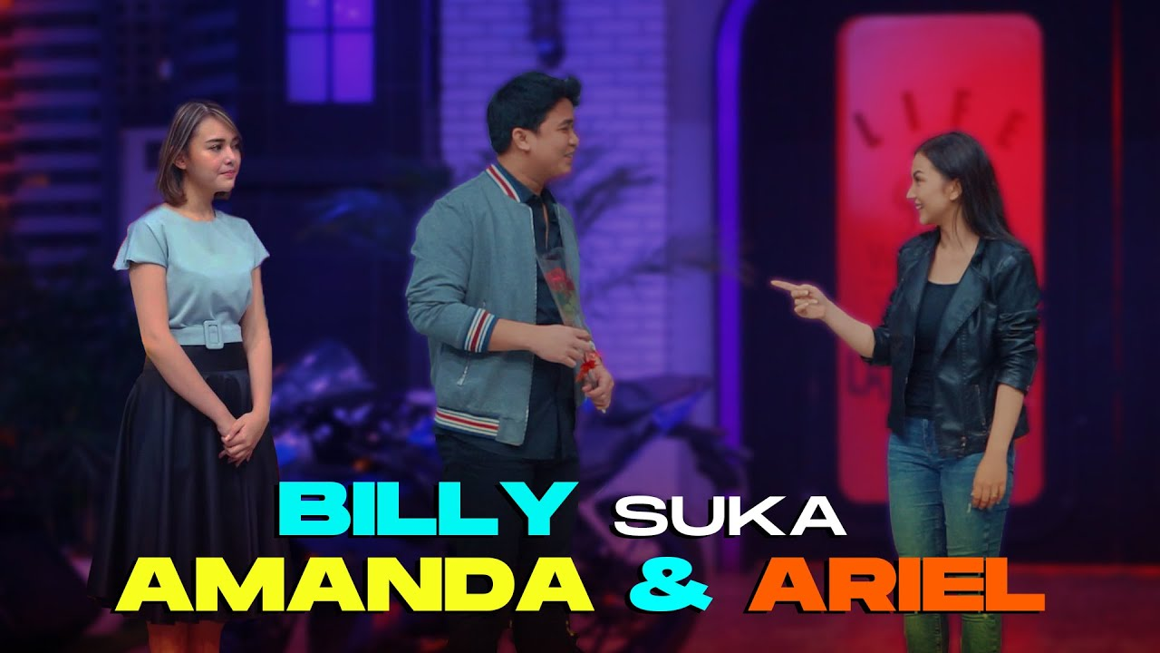 Billy syahputra dan ariel tatum berdua diruangan apa reaksi Amanda Manopo kalo tau ???