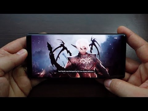 Note 8 gameplay: Lineage 2 Revolution - Best Android Games
