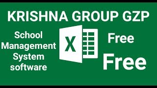 Gambar cover School management software in Excel  free download and use