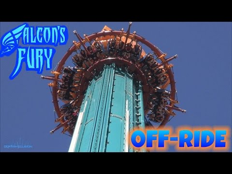 Falcons Fury Off-ride (HD) Busch Gardens Tampa Bay