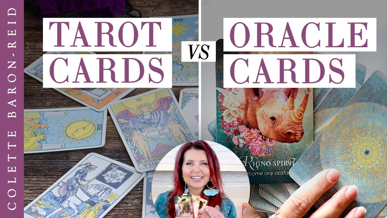 Tarot Cards vs Oracle Cards - Be in the know about the difference
