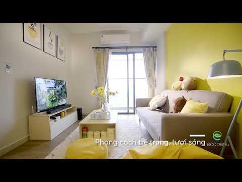 Hình ảnh thực tế căn hộ nhỏ tiện nghi  West Bay, Ecopark có giá dưới 1 tỷ đồng