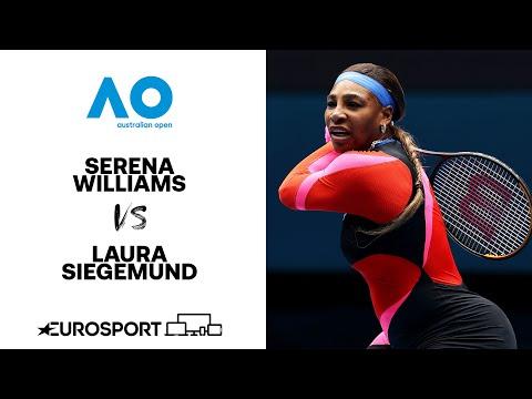 Serena Williams v Laura Siegemund | Australian Open 2021 - Highlights | Tennis | Eurosport