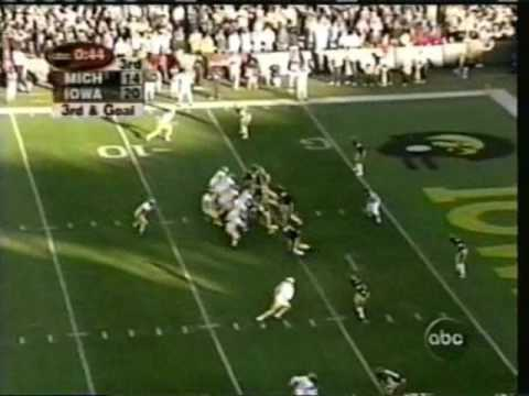2001: Michigan 32 Iowa 26
