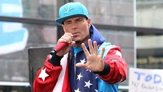Watch Vanilla Ice Meltdown At Ticket Counter After Missing a Flight