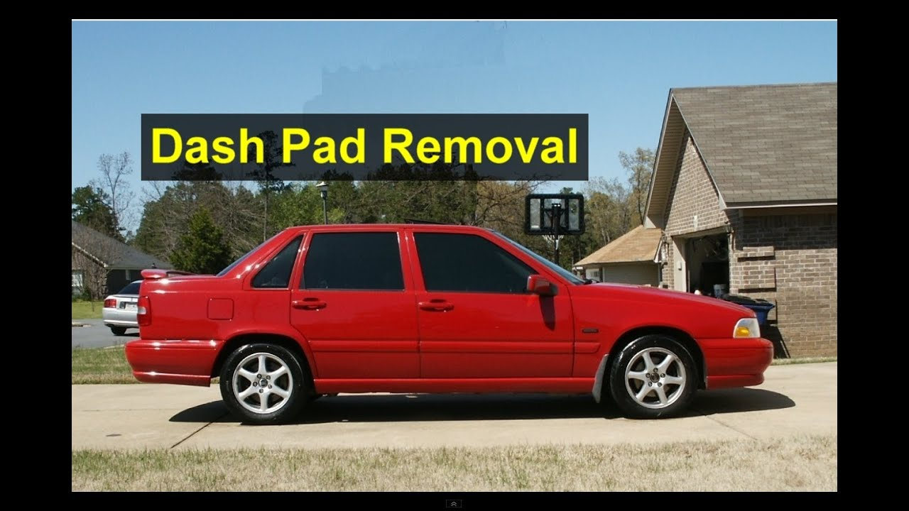 How To Remove The Dash Pad Volvo S70 V70 Xc70 Votd Youtube Fuse Box Removal