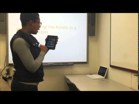Incorporating the Kindle in Your  Classroom