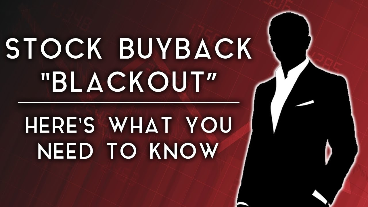 U S Stocks Face Back Blackout Here What You Need To Know