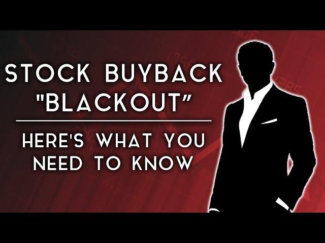 U.S. Stocks face Buyback