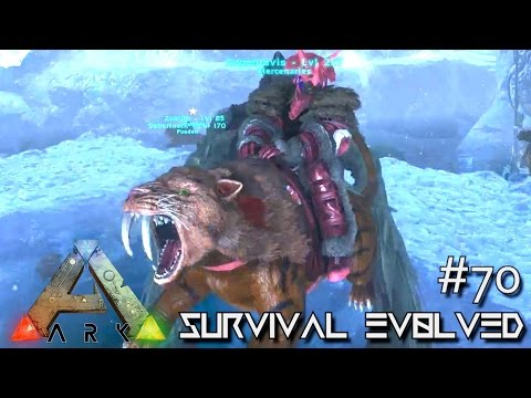 ARK: Survival Evolved - 120 TAME & SNOW CAVE ARTIFACT STRONG !!! - SEASON 3 [S3 E70] (Gameplay)