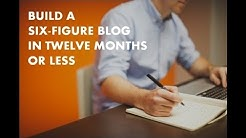 How to Build a 6-Figure Blog in Under a Year