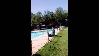 La piscina del camping oto
