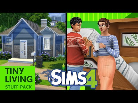 What's in the Tiny Living Stuff Pack??? | Sims 4 |