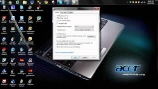 How to change the taskbar position (Windows 7)