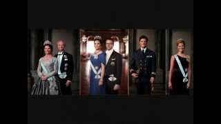 New official portraits of the Swedish Royal Family 2012