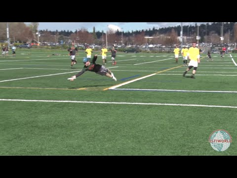 College Men's Ultimate Frisbee Highlights 2016