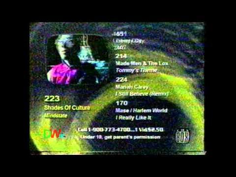 The Box Music Network - Music Menu (1999)