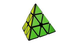 moyu magnetic positioning pyraminx speed cube black stickerless