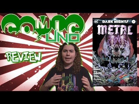 Comic Uno Dark Nights Metal #3 (review)