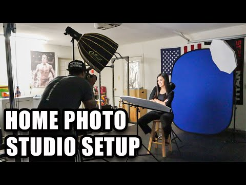 How To Set Up A Home Photography Studio + Equipment You Will Need (COMPLETE BEGINNERS GUIDE)