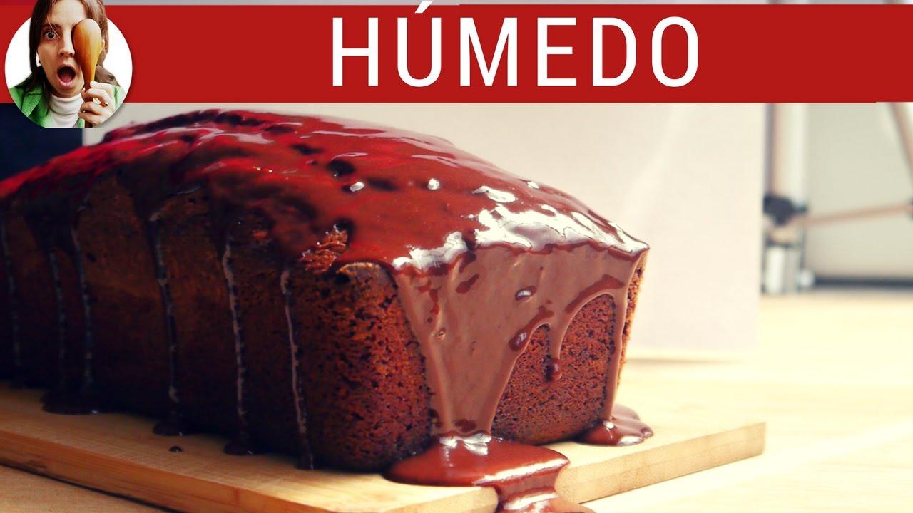 Budín de chocolate humedo