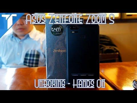 Asus Zenfone Zoom S (Zenfone 3 Zoom) Unboxing Hands On