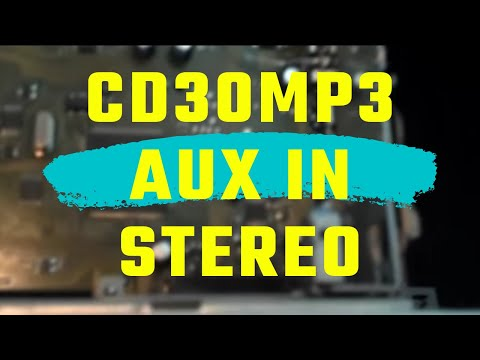 opel cd30mp3 old gen stereo aux in youtube. Black Bedroom Furniture Sets. Home Design Ideas