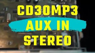 Opel CD30MP3 (old gen.)  stereo AUX - IN