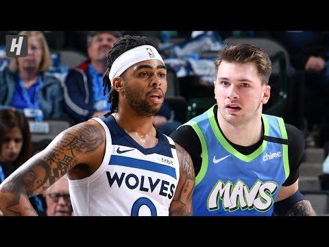 Minnesota Timberwolves Vs Dallas Mavericks - Full Highlights | February 24 | 2019-20 NBA Season