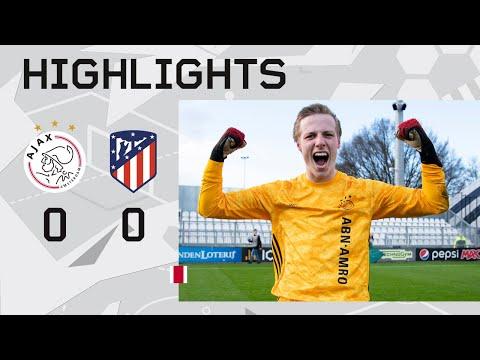 Highlights Ajax O19 - Atlético Madrid O19   UEFA Youth League