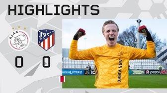 Highlights Ajax O19 - Atlético Madrid O19 | UEFA Youth League